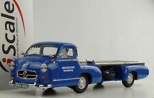 Mercedes-benz Camion da Corsa Das Blu Miracolo 1955 1 18 iScale Diecast