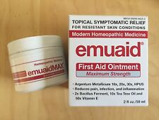 Emuaid MAX Natural, Pain Relief Ointment, Maximum Strength. 2fl oz