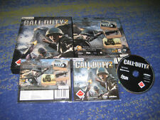 Call of duty 2 hoy ya culto alemán en CD funda con series key Big Box