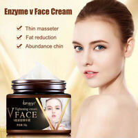 V-Shape Face Line Lift Firming Collagen Cream 50g Double Chin Cheek Slimming