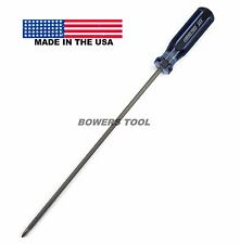 Enderes Tool 10in. Extra Long XL Screwdriver Phillips P1 #1 Blade MADE IN USA