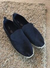 BNNB MENS Toms Deconstructed Alpargata Rope Navy Loafers Size UK 9/EU 42.5/US11