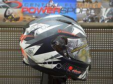 SCORPION EXO-T510 Cipher Sport Touring Motorcycle Helmet White SIZE MEDIUM