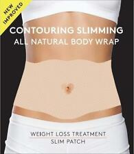 Contouring Slimming All Natural Body Wrap, it Works to Firm, Tighten  5 Wraps