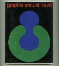 1975 Paul Rand GRAPHIS ANNUAL Saul BASS Lou DORFSMAN Erberto CARBONI R STEADMAN