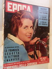 EPOCA 23 Marzo 1958 Dominique Claudel Soraya Raf Vallone Onassis Anna Frank di e