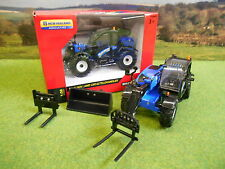 BRITAINS NEW HOLLAND LM7.42 TELEHANDLER & ATTACHMENTS 1/32 BOXED & NEW 43085A1