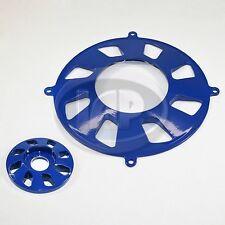 VW BUG GENERATOR PULLEY/ALTERNATOR  PULLEY 2-PIECE COVER SET BLUE AC903135