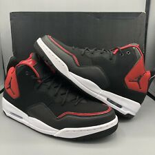 f45f73d797fb96 NIKE JORDAN COURTSIDE 23 BLACK BLACK-GYM RED-WHITE AR1000-006 Men s