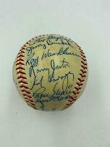 1967 St. Louis Cardinals World Series Champs Team Signed Baseball Beckett COA