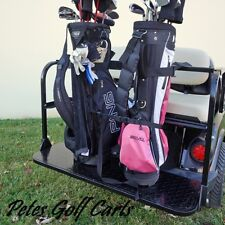 Golf Cart Golf Bag Holder Universal Attachment For Rear Seat Kits