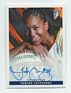 2005 WNBA Autograph TC1 Tamika Catchings Indiana Fever Posed HOF