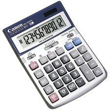 Canon 12 Digit Silver Desktop Business Calculator with Cost Sell Margin and Tax