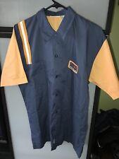 Retro Bowling Shirt Novelty Nice Rack Rib Shack Large Button Up