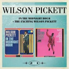 WILSON PICKETT-IN THE MIDNIGHT HOUR+THE EXCITING WILSON PICKETT CD NEU