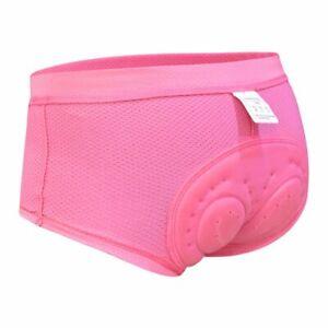 Women Cycling Shorts Bicycle Bike Underwear Pants With Sponge Gel 3D Padded