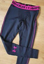 Men's UNDER ARMOUR Cold Gear Leggings Black/Pink Color Size M - BNWT - RRP £40*