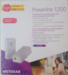 Netgear PLP1200-100PAS PowerLine Network Adapter