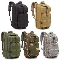 30L Waterproof Military Tactical Backpack Rucksack Bag Camping Outdoor Hiking