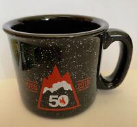 Jackson Hole Wyoming 50th Anniversary Rodeo Mug Cup Souvenir Gift Travel Black