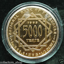 KAZAKHSTAN: 1995 Gold coin  5000 tenge SILK ROAD CAMELS 1/2 Oz PURE GOLD 999