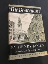 """THE BOSTONIANS"" *Henry James-Modern Library HB/DJ"