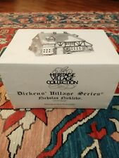 N.I.B. .Dickens Village Dept 56 Nicolas Nickleby