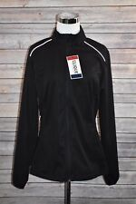 Clique Kalmar Lady Light Softshell LQO00024 by Cutter & Buck Black Gray Medium