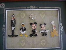 Disney pin TDR Tokyo Disney Resort Club 33 Framed Pin Set 6 pins LE333 New