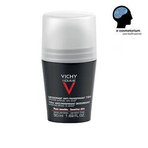 VICHY HOMME 72H DEODORANT ANTI-PERSPIRANT FOR MEN