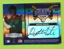 2004 Extra Edition Draft Class Autos - Dexter Fowler & Mike Rozier (DC-33)  /250