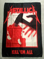 METALLICA - Kill em all FLAG Heavy thrash death METAL cloth poster