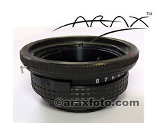 TILT adapter to use Hasselblad lenses on digital cameras Canon, Nikon, Pentax