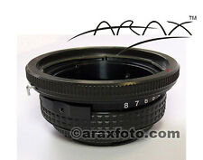 TILT adapter to use Hasselblad lenses on digital cameras Canon, Nikon, Pentax