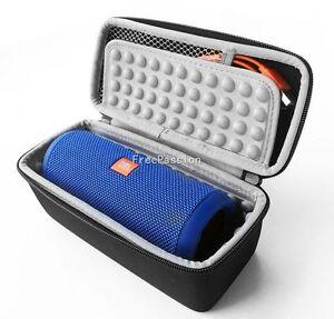 Zipper Travel Portable Hard Case Bag Box for JBL Flip 5 4 3 Bluetooth Speaker