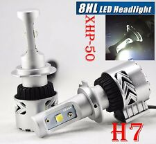 H7 80W 12000LM G8 LED Headlight Bulb Lamp Kit Cree XHP-50 Chips W/Fan 6K Driving