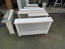 Antique Steam Radiator Covers in Many Sizes, White: 1900-1950