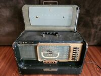 1950s Zenith Wave Magnet Trans-Oceanic Multi-Band Radio 5H40 Chassis H500 Parts