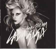 Lady GaGa Born This Way 4 Track CD Single cardsleeve 2011