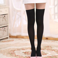 Over The Knee Thigh High Soft Socks Stockings Leggings Women Ladies Girls 6Color