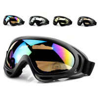 UV Protection Windproof Motorcycle Goggles Cycling Dirt Bike ATV Glasses NT