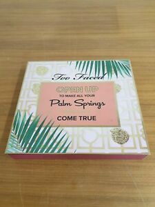 Too Faced Open Up Palm Springs Set