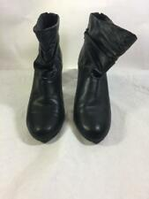 Zara Womens Faux Leather Slouch Ankle Boot Size 8 (39)
