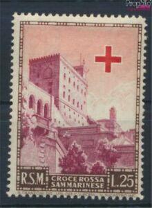 San Marino 457 with hinge 1951 Founding Red Cross (9290314