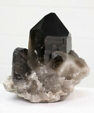 Very Large Smoky Quartz Crystal - Brazil 4.3 KG  Home / Business Decor