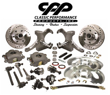 "1963-70 Chevy Gmc Truck Deluxe Disc Brake Conversion Kit 6 Lug 2.5"" Drop"