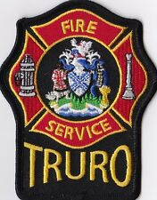 Truro Fire Service Canada Firefighter Patch NEW!!