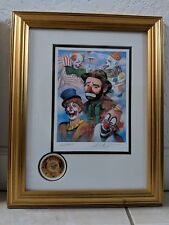 "EMMETT KELLY ""LORD OF THE RING"" CIRCUS SIGNED 1143/9900"