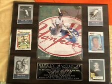 Mickey Mantle Legend Plaque