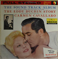 "The Eddy Duchin Story - Carmen Cavallaro 12 "" LP (P874)"